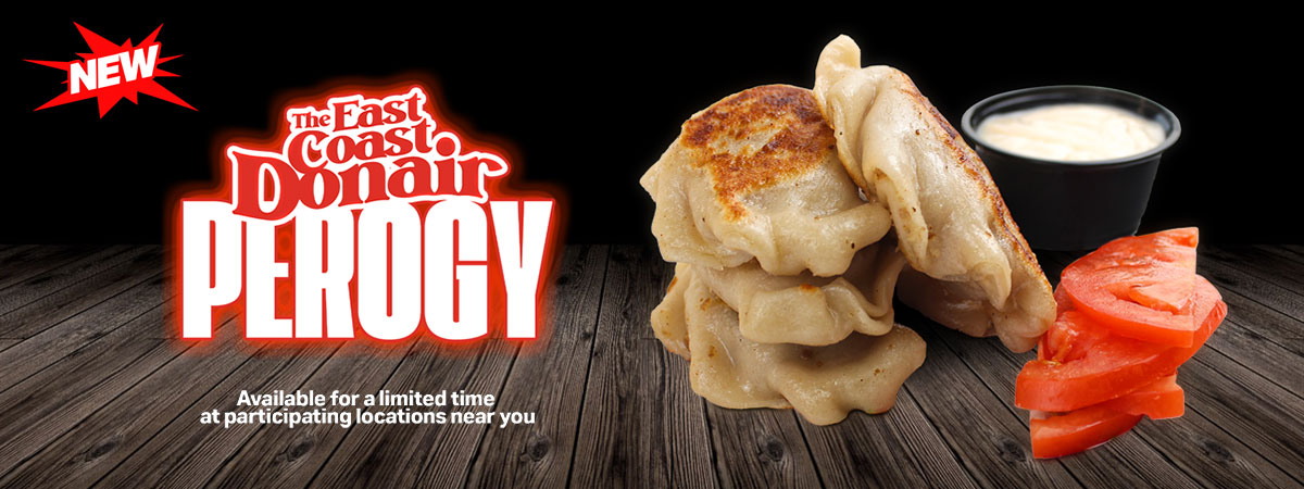 East Coast Donair Perogy Promotional Picture